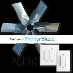 Whole House Fan San Go Zephyr Blade