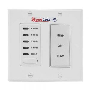 QuietCool Whole House Fan San Diego Switch